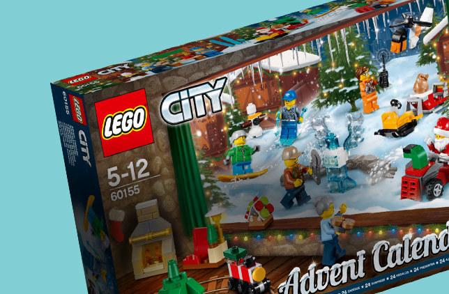 Boutique calendrier avent lego city