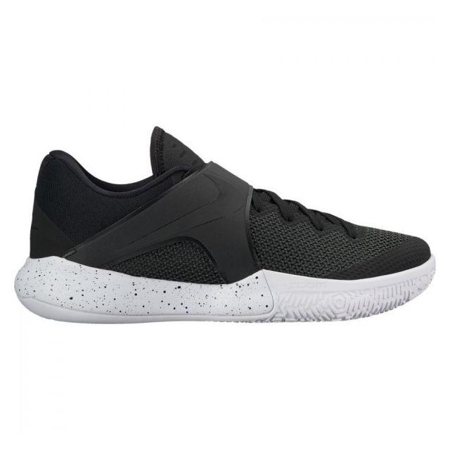 online retailer ff3ff b3b22 Nike - Chaussure de Basketball Nike Zoom Live 2017 Noir et blanche pour  homme Pointure -