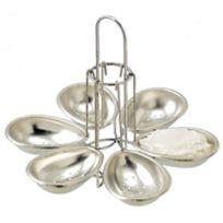 COMBRICHON - manège de 6 pocheuses à oeufs métal - nc50.326.00