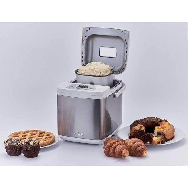 Ariete Machine à pain électrique 500W gris blanc