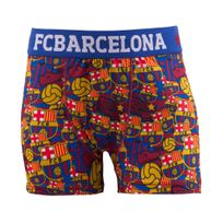 Made In Sport - Boxer Fc Barcelone All Over Bleu/rouge