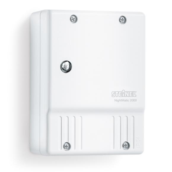 Rocambolesk - Superbe Steinel Interrupteur crépusculaire NightMatic 2000 Blanc neuf