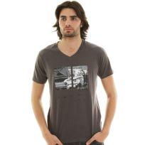 Eagle Square - T-shirt Power Grey