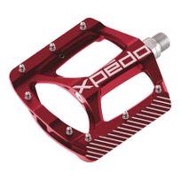 Xpedo - Pédales Zed rouge