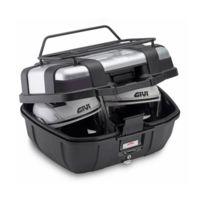 top case valise Trk52B Trekker Monokey très grand volume 52L Noir