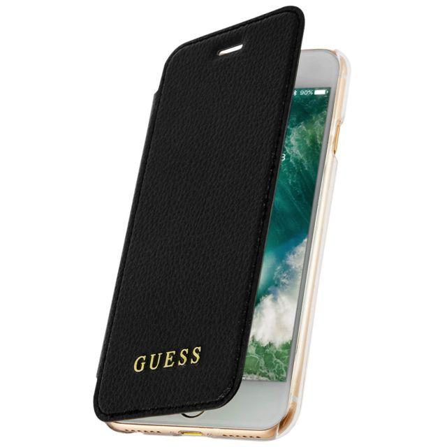 f0050166d5 Guess - Etui iPhone 6 , 6s,7 et 8 Etui Clapet Portefeuille Guess IriDescent