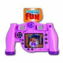 Videojet - Appareil photo numerique Rose interactif pour enfants