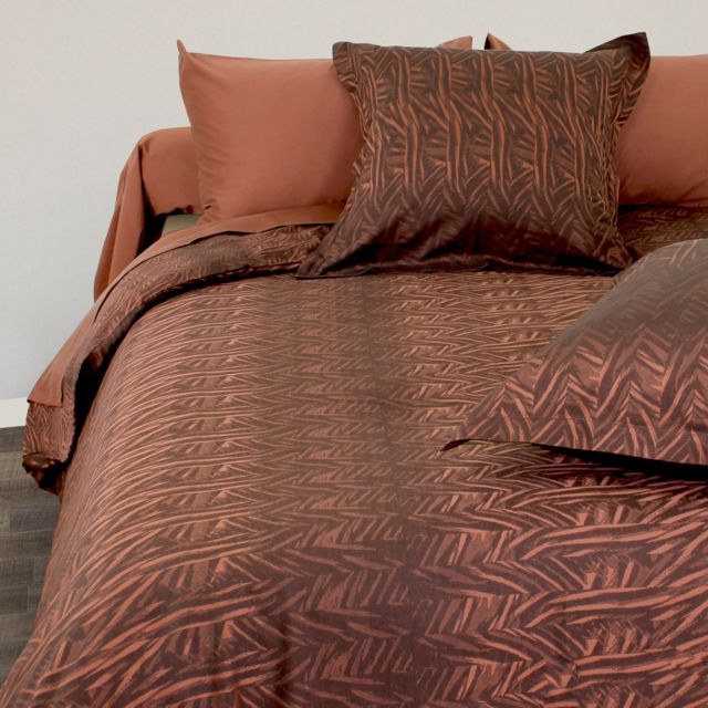 linnea parure de lit 280x240 cm satin de coton opera. Black Bedroom Furniture Sets. Home Design Ideas