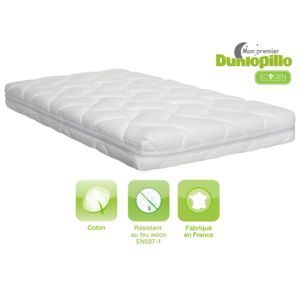 dunlopillo matelas b b poussin 60x120 pas cher achat. Black Bedroom Furniture Sets. Home Design Ideas