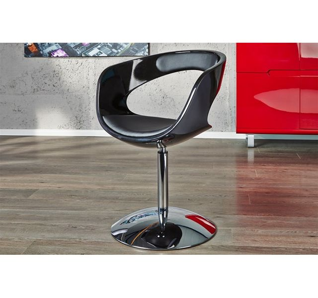 CHLOE DESIGN Fauteuil design Player - noir