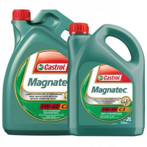 castrol huile moteur magnatec 5w40 c3 pack bidon de 5l 2l achat vente huiles moteurs. Black Bedroom Furniture Sets. Home Design Ideas