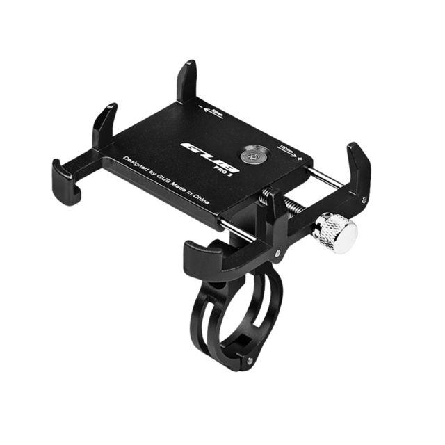 Rouge Support de t/él/éphone Portable Gub en Aluminium pour VTT//Moto