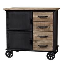 roulette industrielle ancienne achat roulette industrielle ancienne pas cher rue du commerce. Black Bedroom Furniture Sets. Home Design Ideas