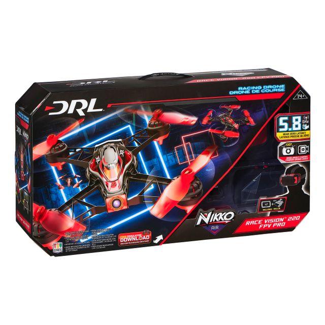 NIKKO AIR - Drone de course Elite Racer 220 FPV PRO - 5,8 GHz- 22608