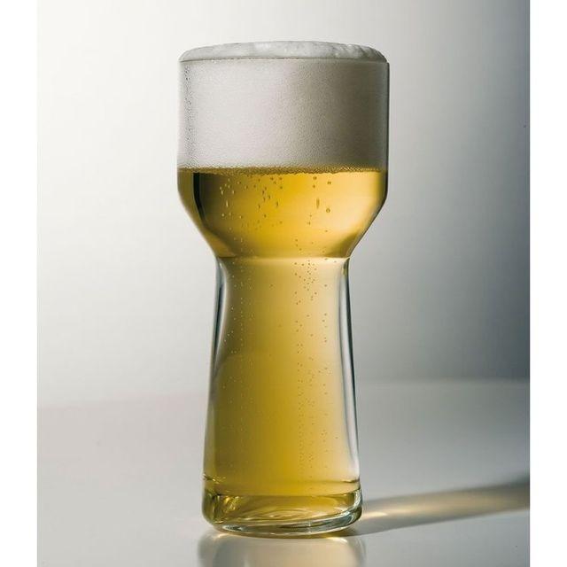 La Rochere Coffret de 4 chopes en verre soufflé machine - 25 cl - Ale