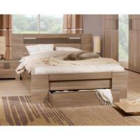 lit 160x200 avec tiroir achat lit 160x200 avec tiroir pas cher soldes rueducommerce. Black Bedroom Furniture Sets. Home Design Ideas