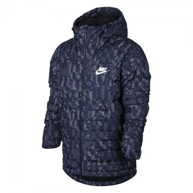 Nike - Veste Sportswear Down Fill - 863789-429 Bleu - M - pas cher Achat / Vente Veste homme - RueDuCommerce