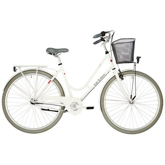 Ortler - Fjaeril - Vélo de ville Femme - blanc