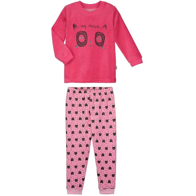 8ee57052eaf53 Petit Beguin - Pyjama fille manches longues My dream - Taille - 4 5 ...