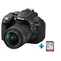 NIKON - Pack Amateur D5300 18-55VR + Carte SD 16GO