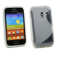 Bluetrade - Coque Tpu Transparent type S pour Samsung S7500