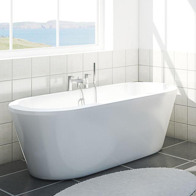 baignoire retro pas cher mitigeur de baignoire nf sensea siryo chrome rsultat suprieur frais. Black Bedroom Furniture Sets. Home Design Ideas
