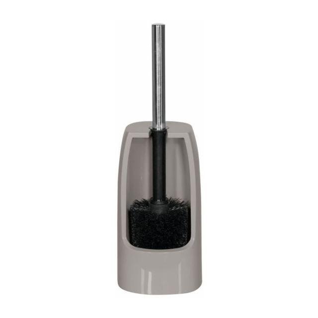 Pure Porte balai Wc - 35,5x12x12cm - Marron taupe