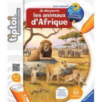 Ravensburger - Tiptoi Livre Je découvre les animaux d'Afrique - 00592