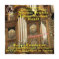 Bnl - Bruhns ; Hanff : Oeuvres Pour Orgue