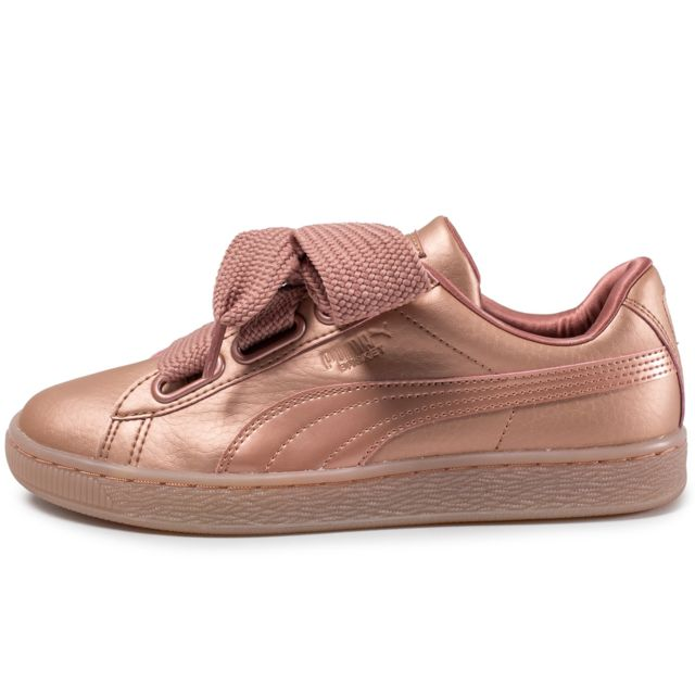 puma basket heart copper pas cher achat vente baskets femme rueducommerce. Black Bedroom Furniture Sets. Home Design Ideas