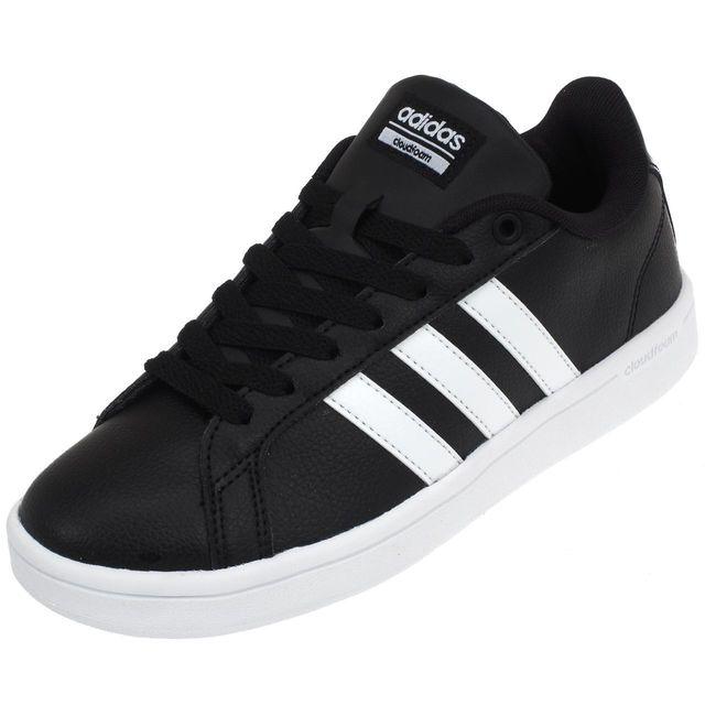 Adidas Chaussures mode ville Advantage noir blc Noir 38906
