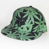 Fallen - Casquette Fited Green Leaf
