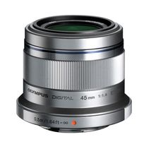 Olympus - Objectif M.ZUIKO 45 mm f/1.8 Silver