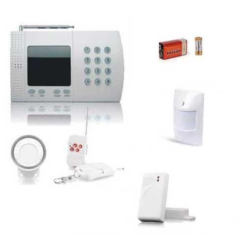 Kit alarme sans fil de maison, 6 Zones Easy Box