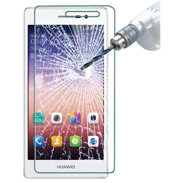 Conber Compatible avec Coques Film Protection Ecran pour Huawei Honor 7X Verre Tremp/é pour Huawei Honor 7X Duret/é 9H vitre de Protection 3 Pi/èces