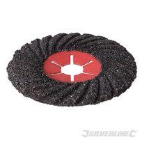 Silverline - Disque abrasif semi-flexible 125 mm