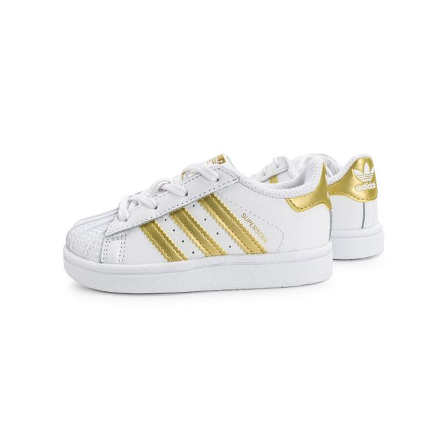 adidas superstar doré