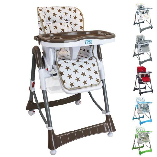 pliable réglable hauteur bébé haute Chaise dossier tablette bg6Yf7yv