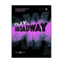 Faber - Play broadway : 10 classic showstoppers for violin and piano