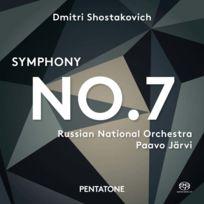 Pentatone - Dimitri Chostakovitch - Symphonie no. 7 Boitier cristal