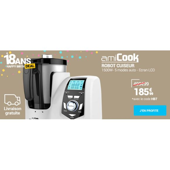 FAGOR roobot multi fonction grand chef