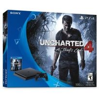 SONY - Nouvelle PS4 1To D Black + Uncharted 4