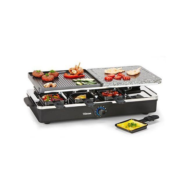 Totalcadeau Appareil à grill et pierre à griller pour raclettes - Planchas éléctroménager cuisine
