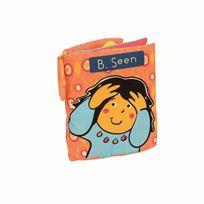 B Toys - B. Toys 44215 Peek-a-books Stoffspielzeug