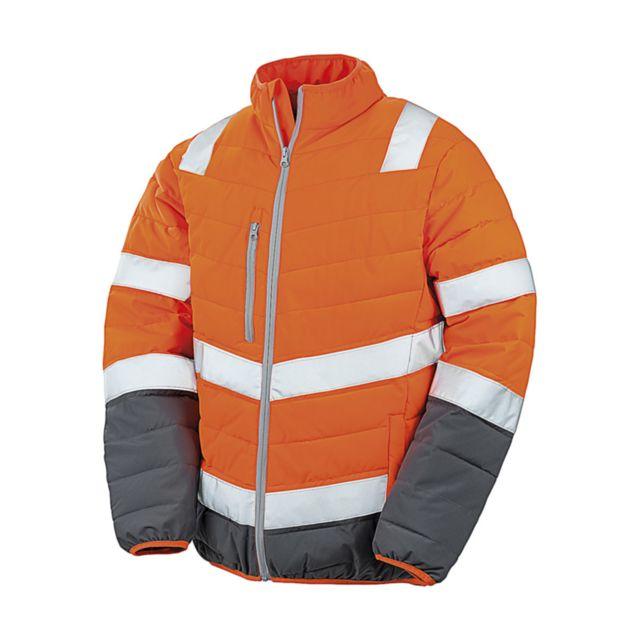 Sécurité Homme Rueducommerce Cher Orange Pas Achat Veste Doudoune Matelassée Vente Fluo R325m Result anIgtqw