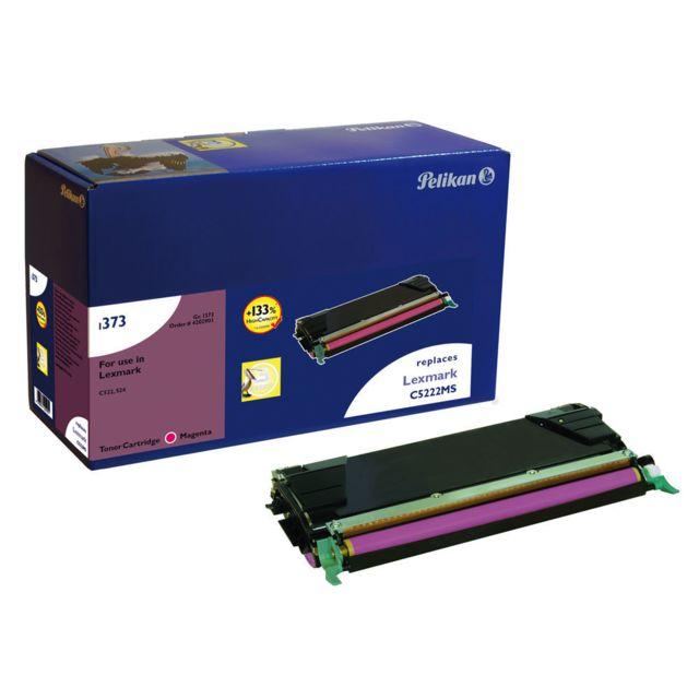 PELIKAN Toner pour LEXMARK C522 C5222MS Magenta -7000 pages