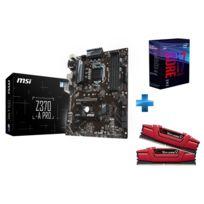 INTEL - i7 8700K + Z370 A Pro + 16 Gb DDR4