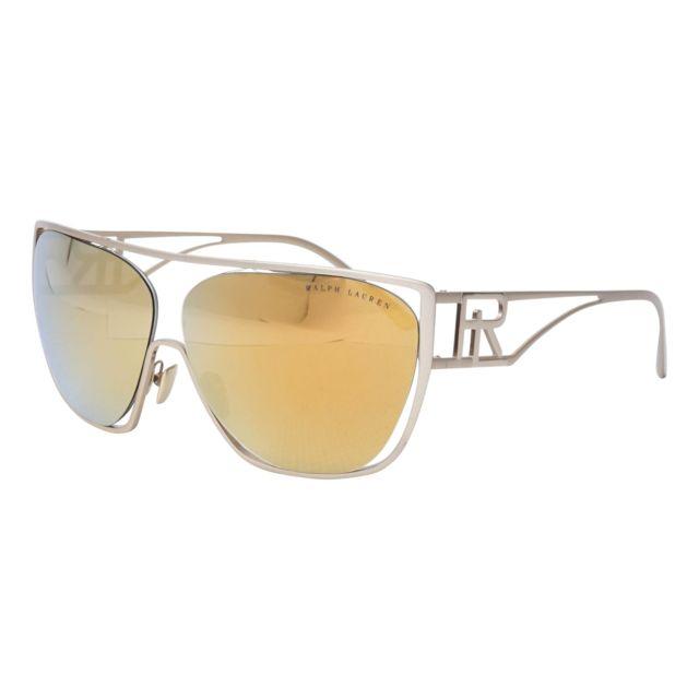 Ralph Lauren - Rl-7063 91167P Argent brossé - Lunettes de soleil - pas cher  Achat   Vente Lunettes Tendance - RueDuCommerce 77ef41a1dc11