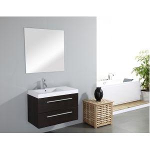 Sanitaire fr meuble simple vasque saturn 80cm weng for Meuble sanitaire