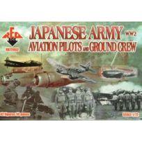 No Name - Ww2 Pilotes Japonais ArmÉE Aviation A.GRCR 1:72